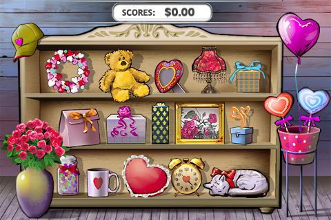 Screenshot Loving Hearts Slots