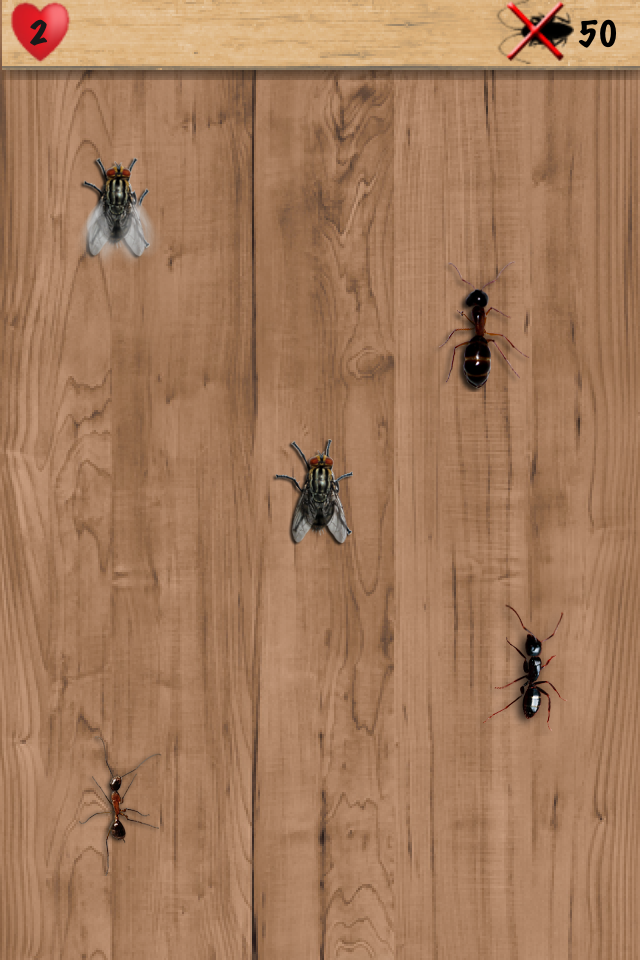 Screenshot Ants & Flies Smasher